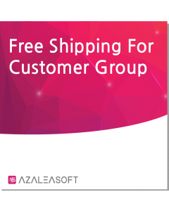 Free Shipping For Customer Group